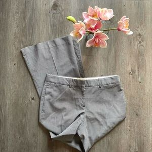 THEORY / CHECK DRESS PANTS BOOT CUT